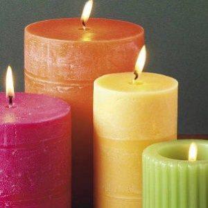 amarre de amor a distancia con velas de colores