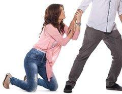 rogarle a tu ex novio no funciona