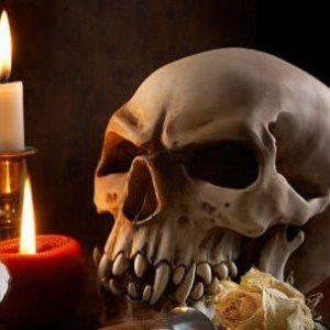 Conjuro de rosas a Santa Muerte
